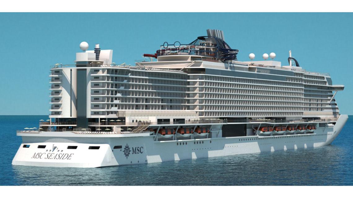 Msc Seaside Bookings Open Travel Weekly