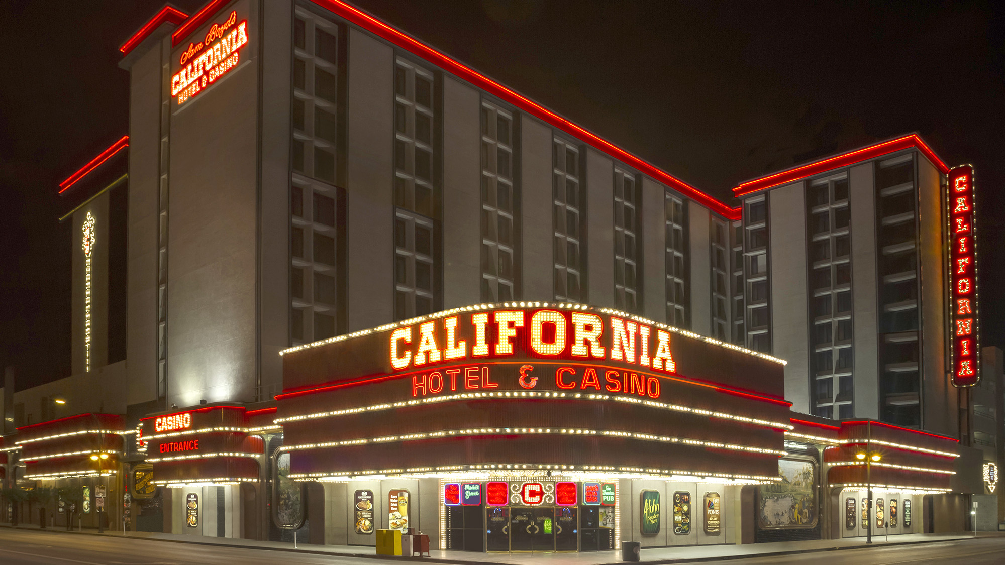 California Hotel And Casino Set For Multimillion Dollar