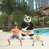 Sheraton Macao introduces Kung Fu Panda Academy obstacle course