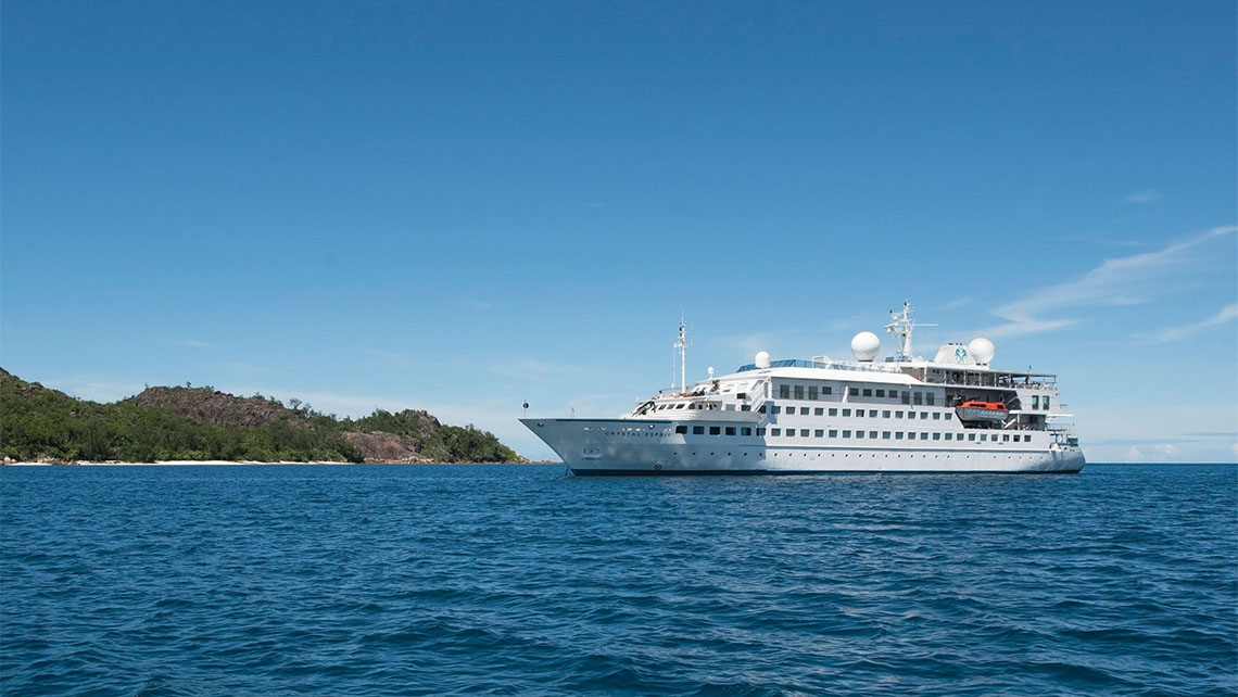The Crystal Esprit made its debut last month in the Seychelles.