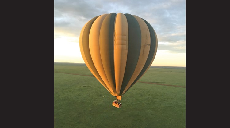 Ballooning over Kenya&#39;s Mara Conservancy with Hot Air Safaris.<br /><br /><strong>Photo Credit: Abe Peck</strong>