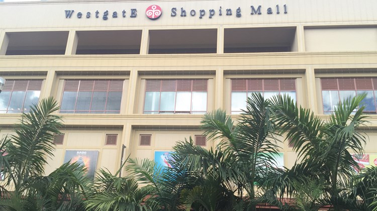 The Westgate Mall, site of the September 2013 massacre, likely perpetrated by the terror group Al-Shabaab, where 67 people were killed.