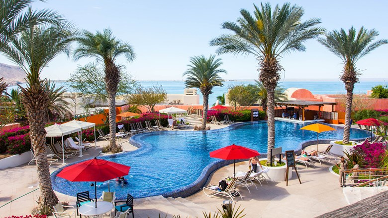 The pool at the Costa Baja Resort & Spa