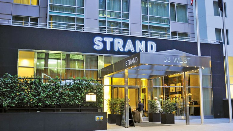 Marriott Vacations purchased the Strand, a hotel in Manhattan's Garment District.