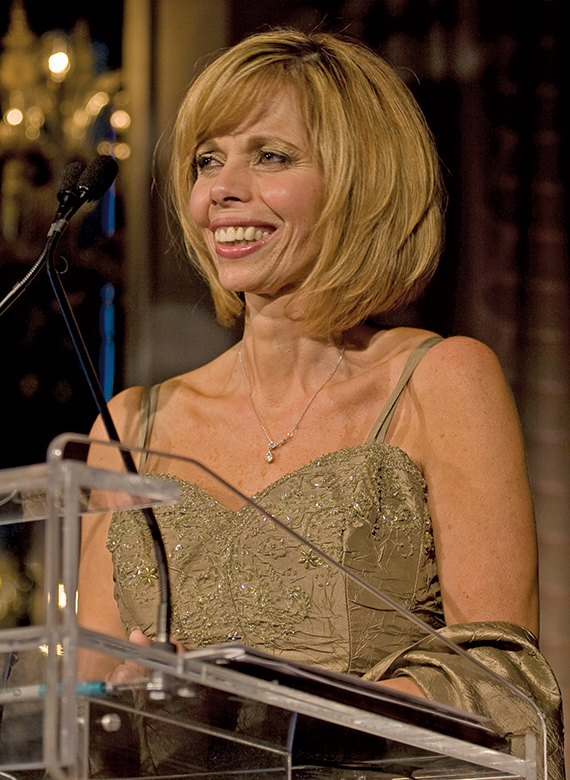 Donna Flora received a Lifetime Achievement Award from Travel Weekly. Photo Credit: Steve Hockstein/ Harvard Studios