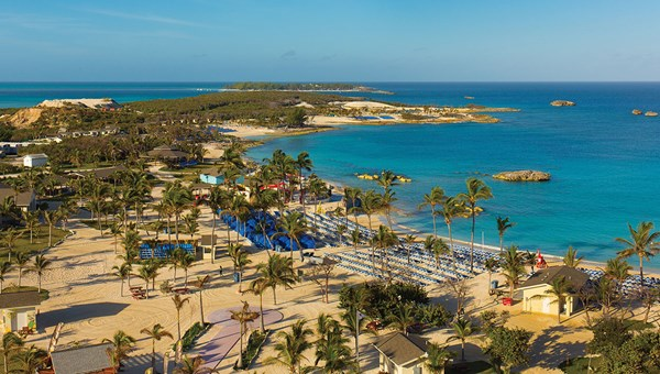 Great Stirrup Cay will get new dining, cabanas, family entertainment and spa experiences.