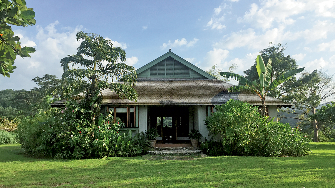 A cottage at Pantrepant, a former sugar plantation that now is home to an organic farm. Photo Credit: Arnie Weissmann