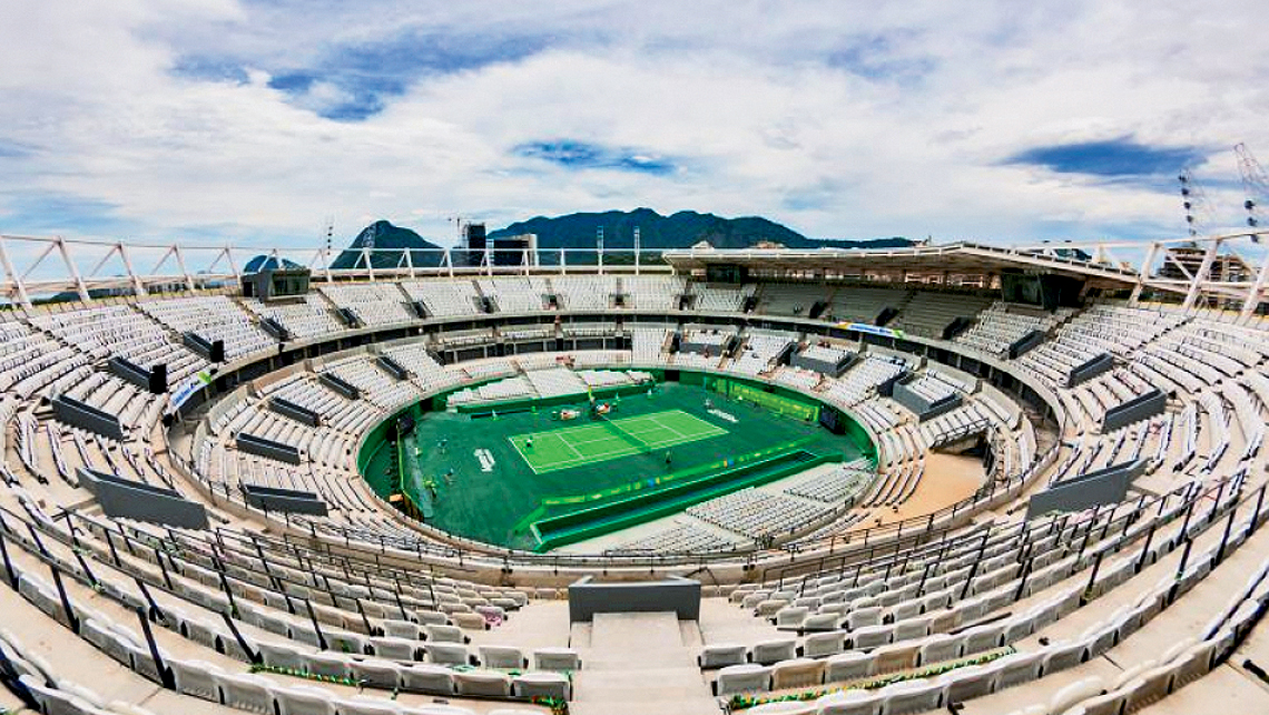 According to a Brazlian website, Olympic stadium construction is 80% to 100% finished. Photo Credit: Alex Ferro/Rio 2016