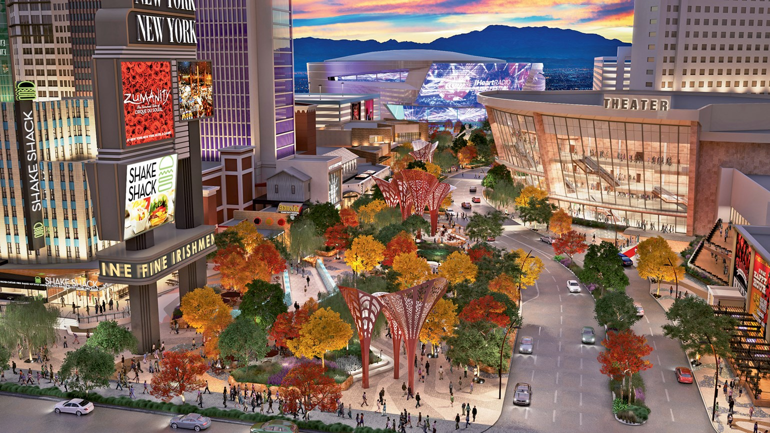 The Park Outdoor Oasis For Today S Vegas Travel Weekly