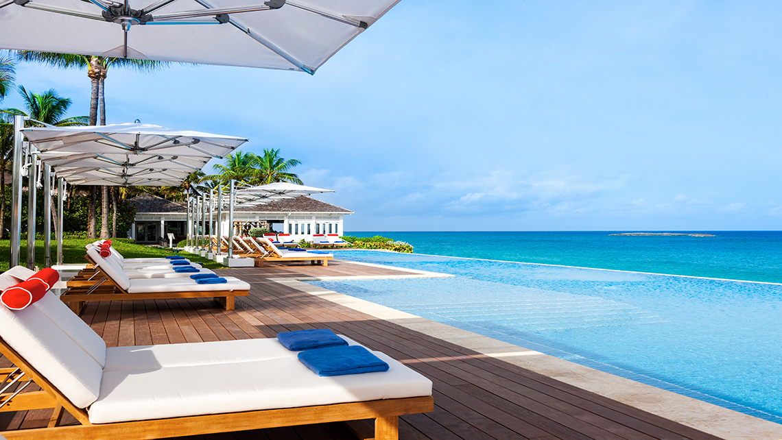 A popular new addition to the resort is the 125-foot oceanfront infinity pool.