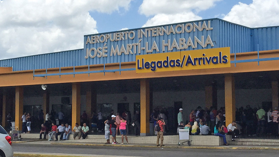 Cuba's airports are one of the areas in the nation that seem ready to handle an influx of American tourists. Photo Credit: Gay Nagle Myers