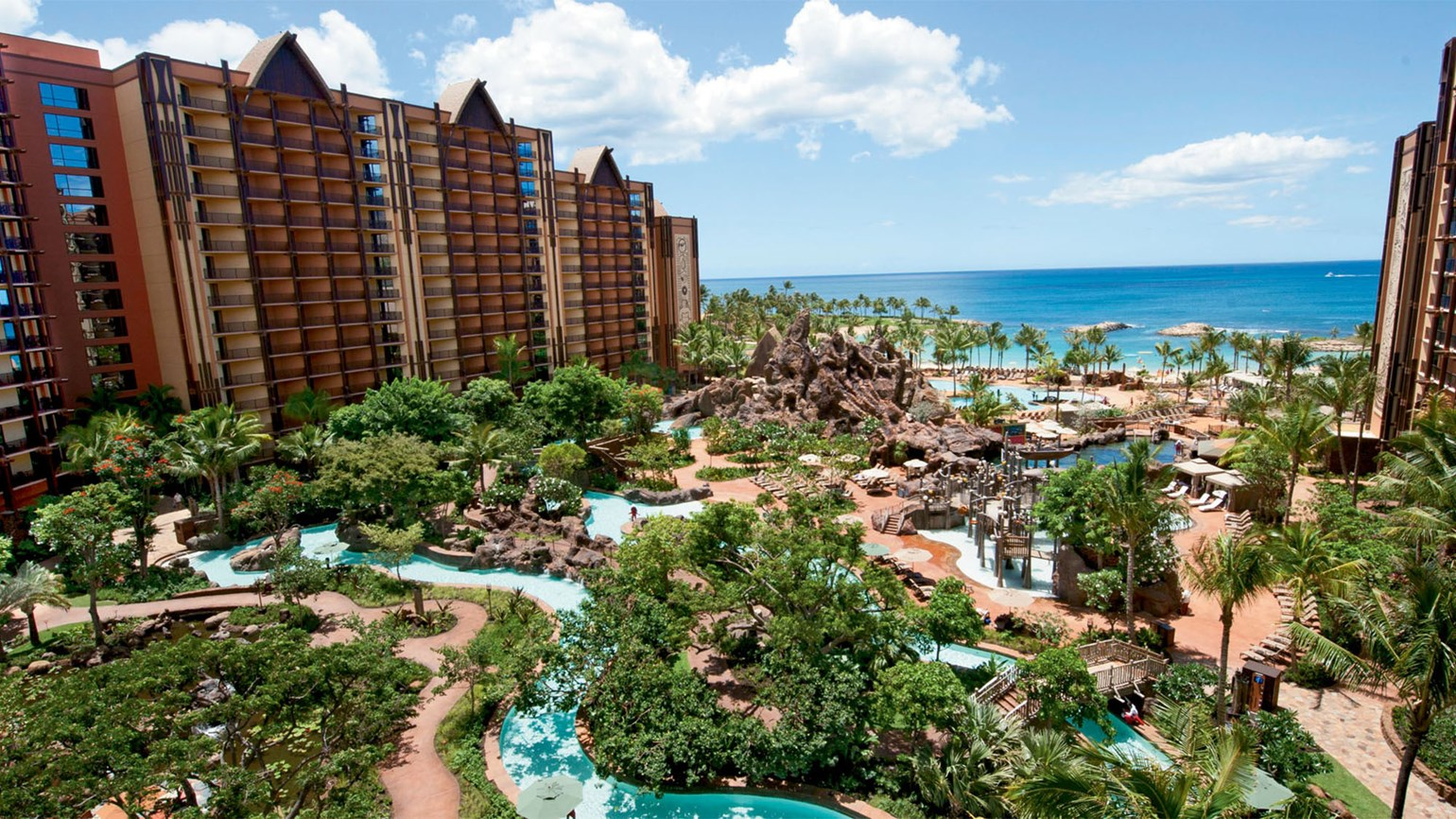 Disney's Aulani resort is a popular Hawaii destination for family vacations.