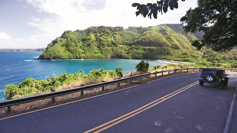The Road to Hana drive on Maui offers some beautiful settings to see.