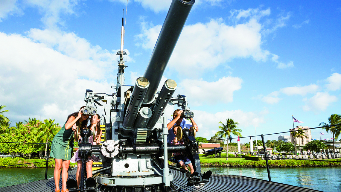 Pearl Harbor remains the top destination for Hawaii vacationers. Photo Credit: Tor Johnson/Hawaii Tourism Authority
