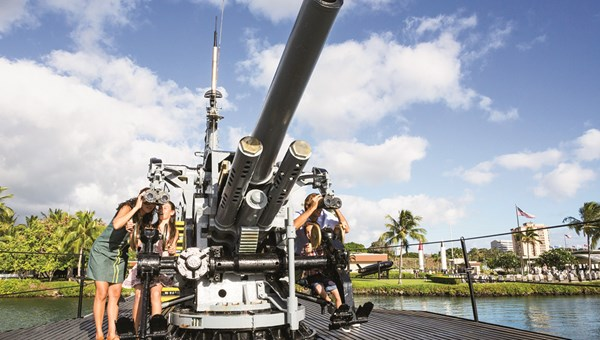 Pearl Harbor remains the top destination for Hawaii vacationers.