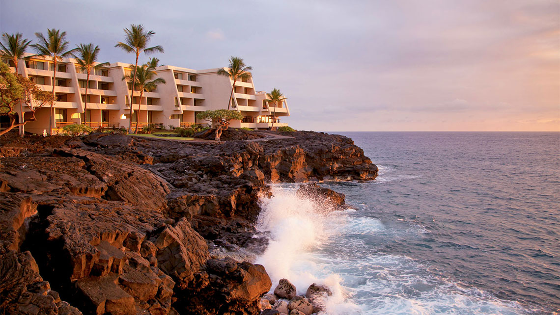 The Sheraton Kona Resort & Spa at Keauhou Bay is another family favorite.