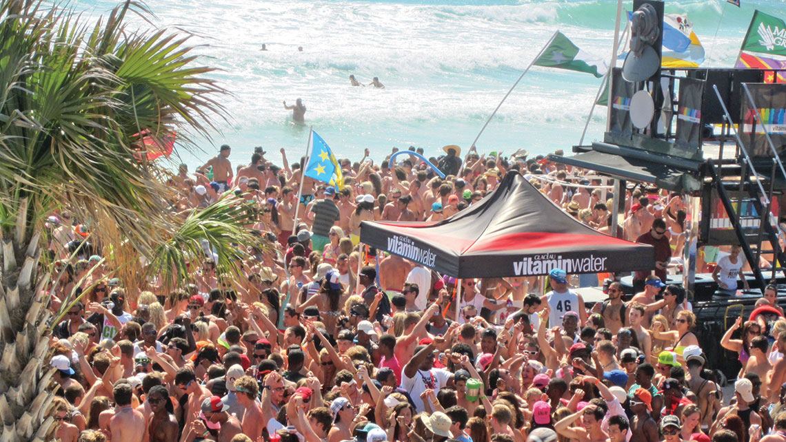 Panama City Beach, Fla., remains one of the most popular destinations for college students on spring break.