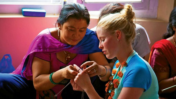In Focus tours in Nepal help disadvantaged women.