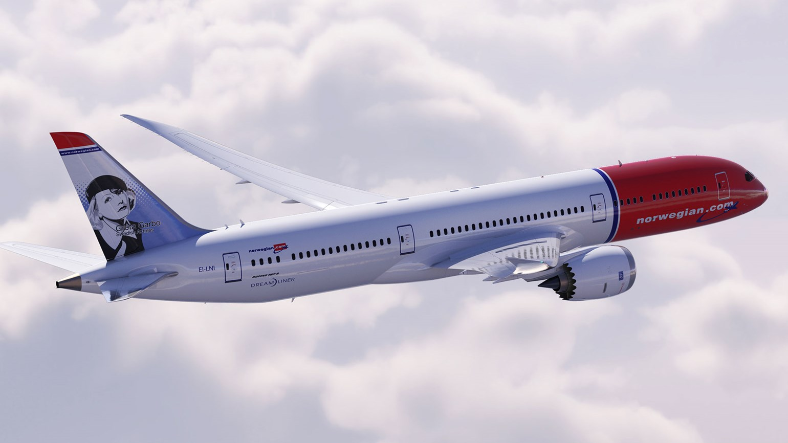 Norwegian Air flying to Madrid, Amsterdam and Milan