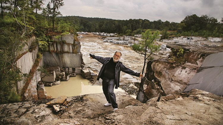 Massoud Besharat, who was born in Iran, owns a granite quarry in Elberton, Ga.<br /><br /><strong>Photo Credit: Steve McCurry/©Steve McCurry</strong>