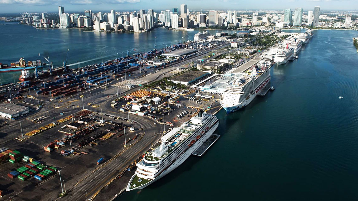 Royal Caribbean S New Miami Cruise Terminal To Be Work Of