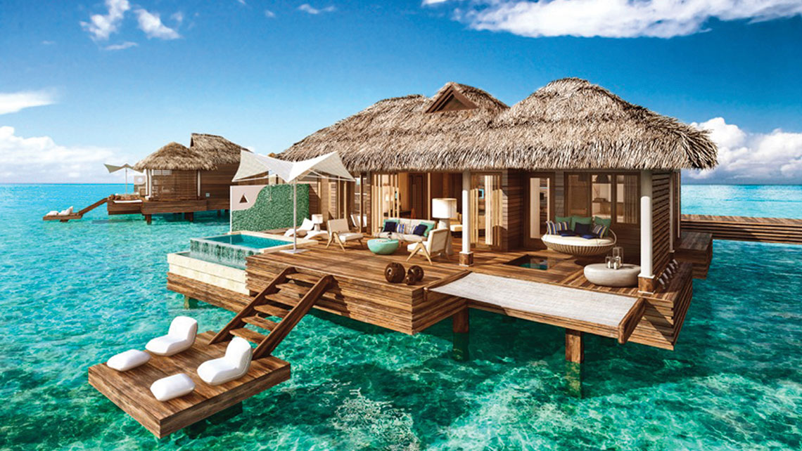 Sandals Taking Reservations For Overwater Suites At Jamaica