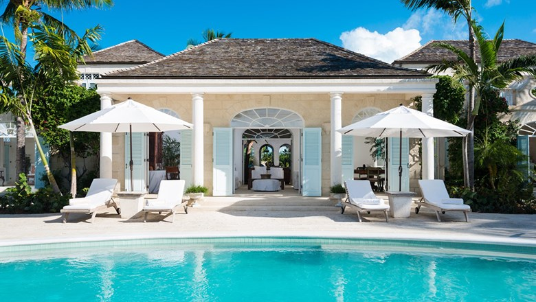 The Coral House on Grace Bay Beach, Turks and Caicos, is priced at $5,500 a night.