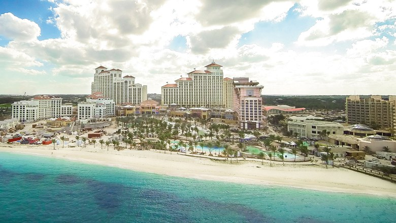 "Colliers says that the Bahamas government is willing to provide ""special assistance"" to get the resort opened."