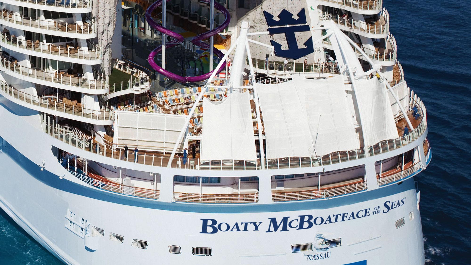 Royal Caribbean seeks name advice from 'Boaty McBoatface' creator