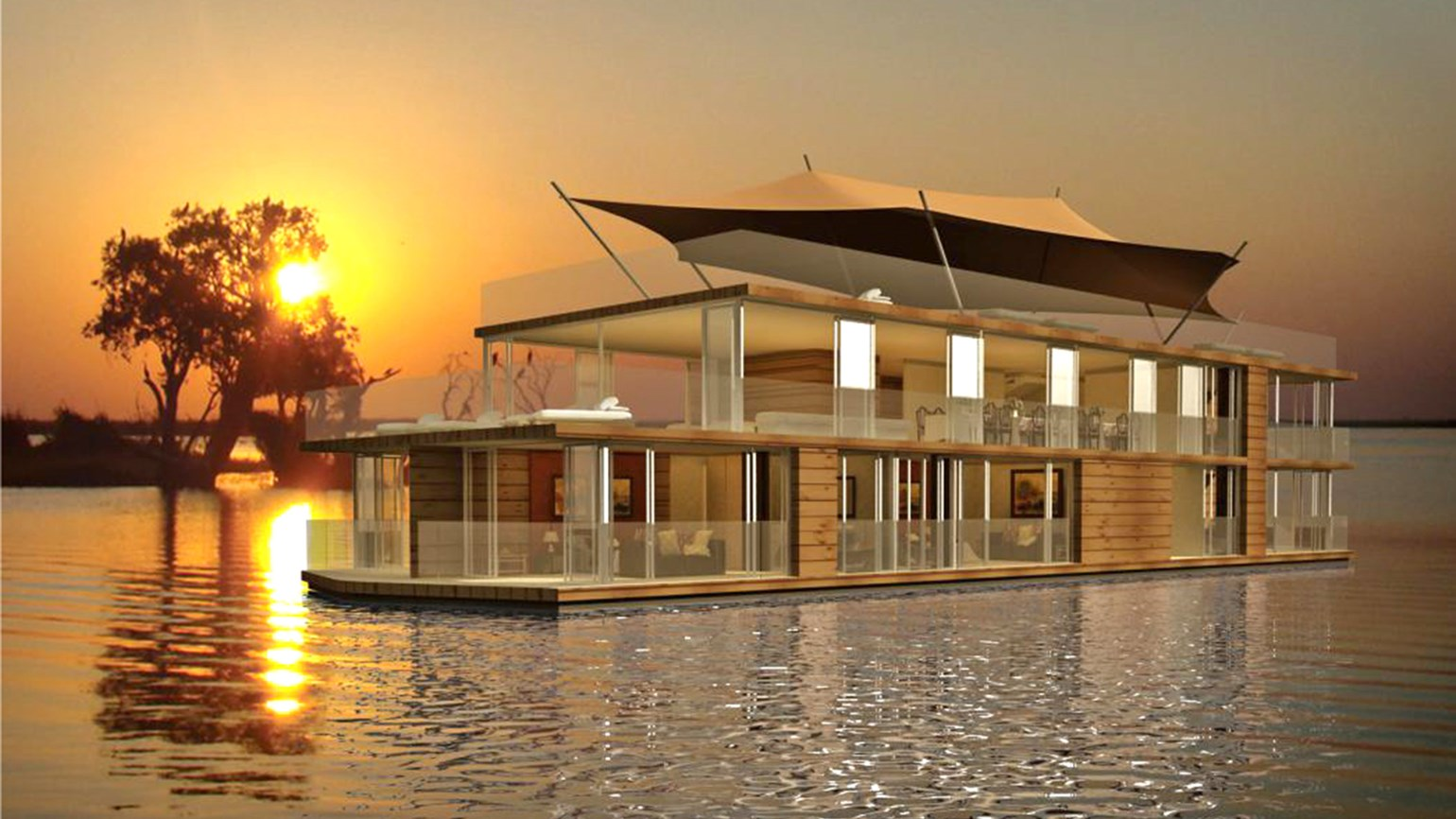 CroisiEurope Building Ship For ZambeziChobe River Cruises Travel - Chobe river