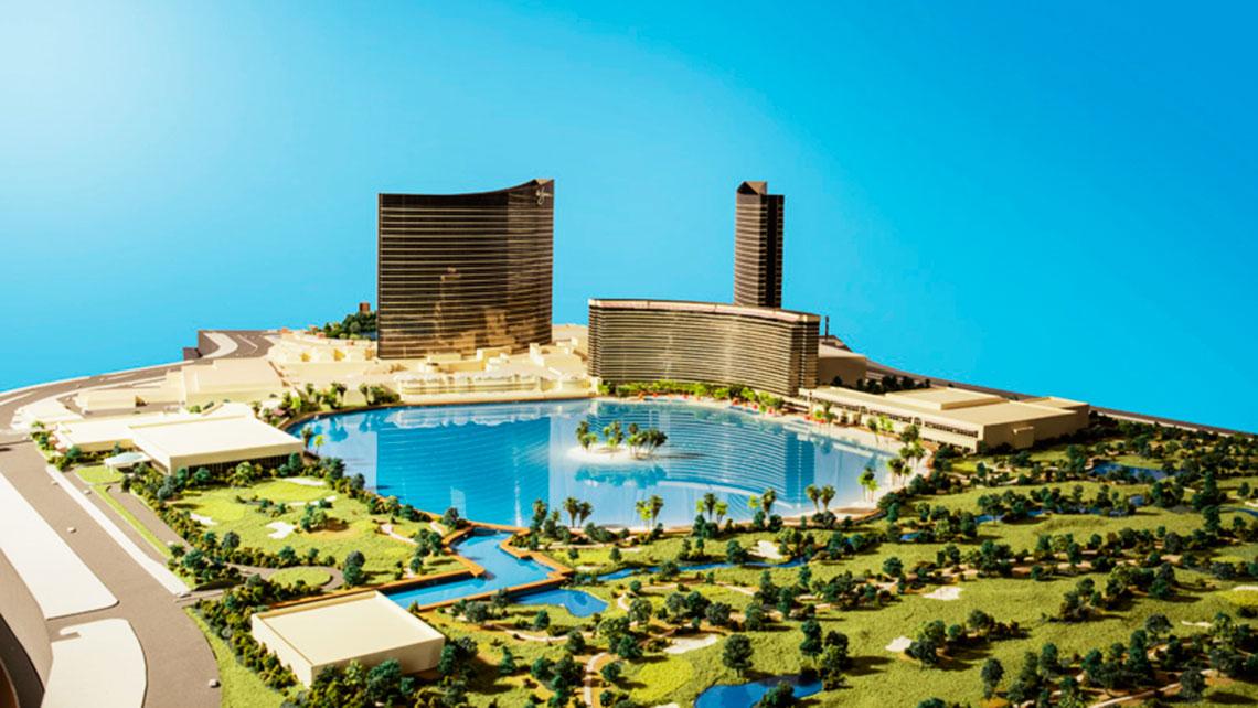 A Model Of Wynn Paradise Park