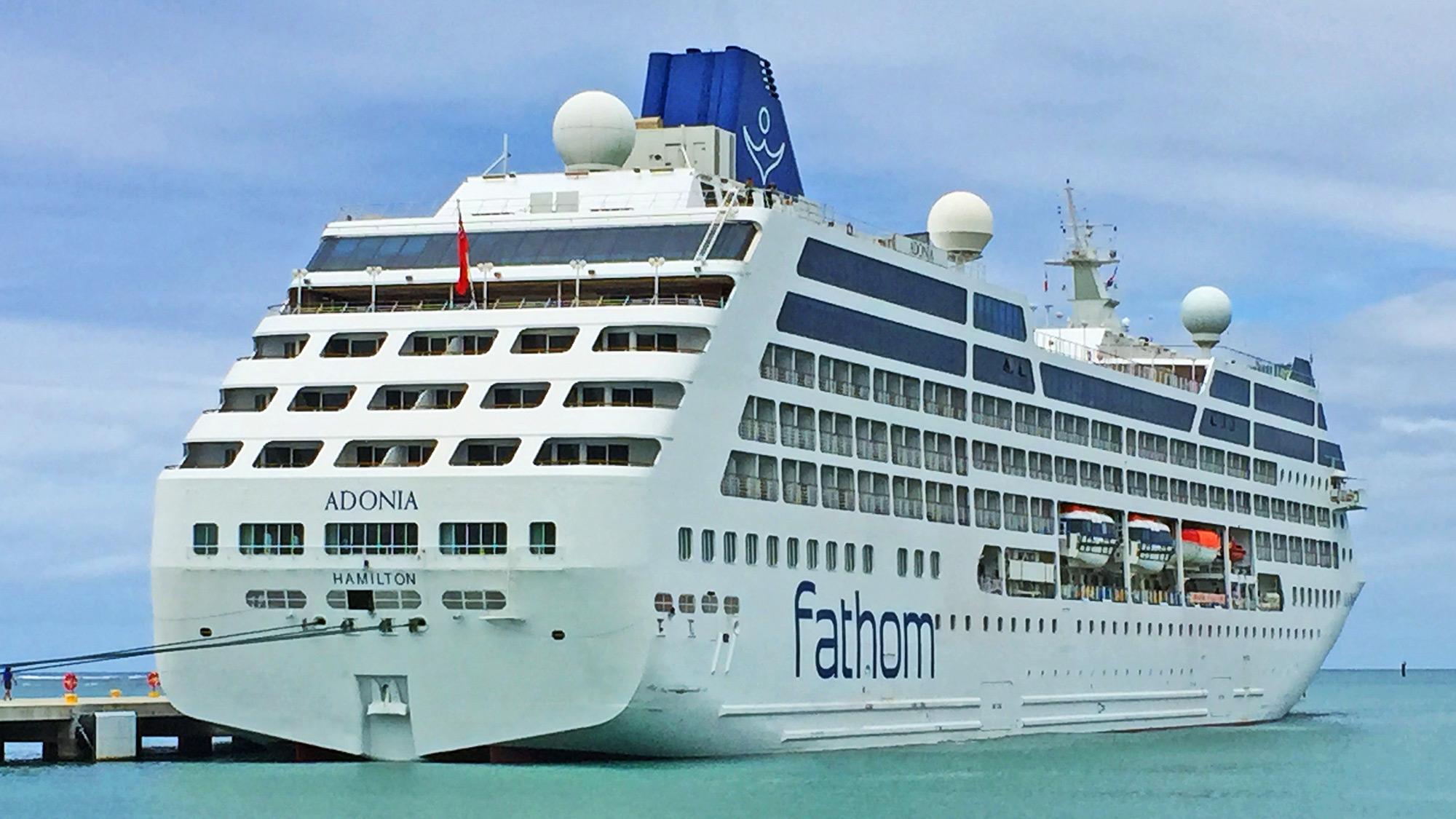 Adonia Cruise Ship Fathom | newhairstylesformen2014.com