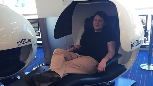JetBlue unveils nap pods at Kennedy Airport