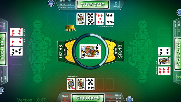 Grab Poker is a skill-based game from Gamblit Gaming that combines elements of video-game play with poker.