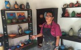 Artist Felipe Ortiz Bracamonte displays his art in Pacaya Lodge & Spa, where it is also available for purchase. Guests are also invited to take lessons in his studio in the town San Juan de Oriente, one of a string of ''los pueblos blancos'' (white villages) known for strong artisan traditions.