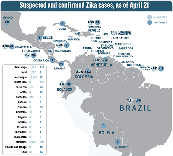 Lack Of Reporting Standards Blurs Zika Travel Safety Data Travel Weekly - Map-of-us-virgin-islands-and-puerto-rico