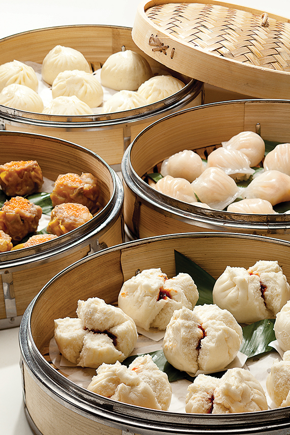 The Bacchanal Buffet at Caesars Palace has varied dim sum offerings.