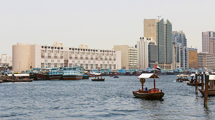 The dredging of the Dubai Creek was instrumental in making the city an important Mideast port in the early 20th century.