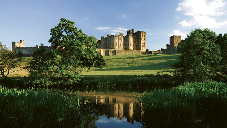 "Alnwick Castle was used to film scenes for ""Downton Abbey"" and two Harry Potter movies."