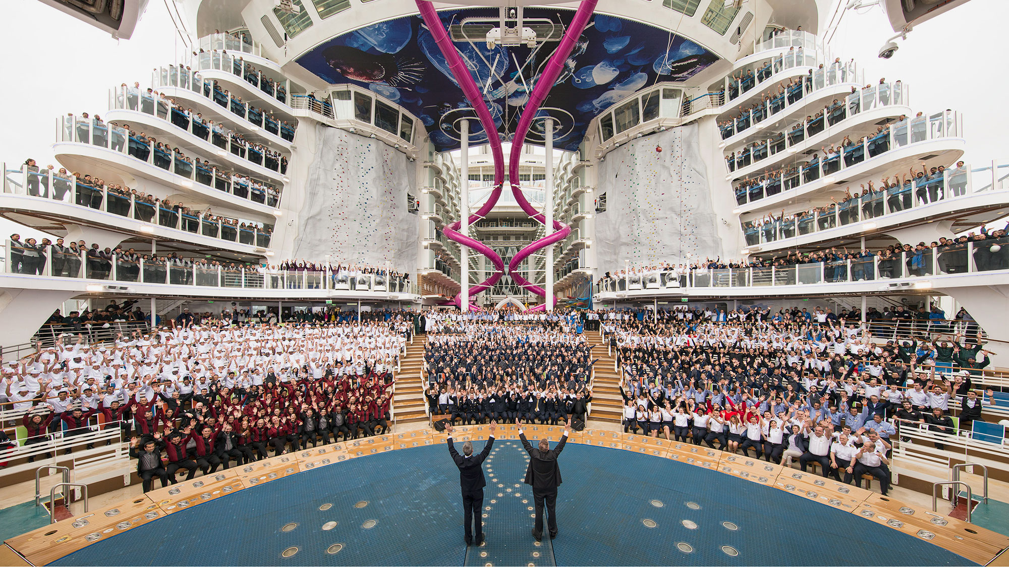 Harmony of the Seas joins Royal Caribbean's fleet: Travel Weekly
