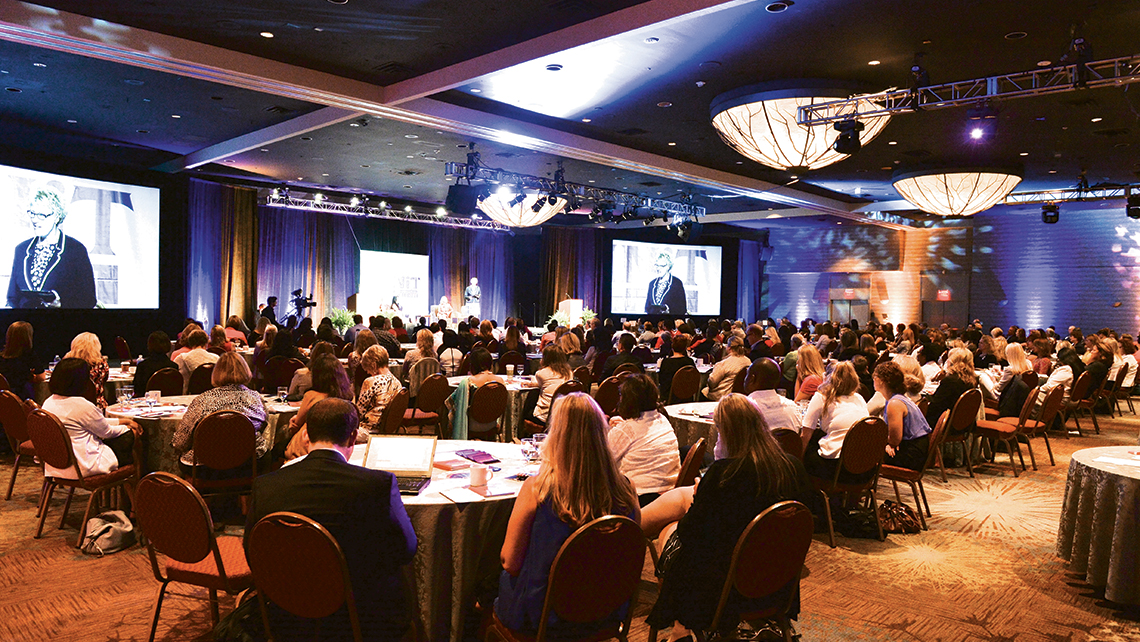 Members of Women in Travel gathered in Orlando last July for the organization's annual summit.