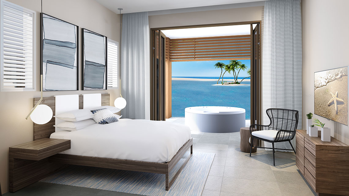 Great Stirrup Cay will have villas in its exclusive Lagoon Retreat area.