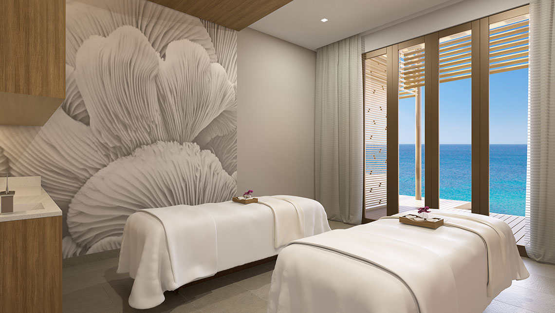 A posh Mandara Spa will have four treatment rooms.