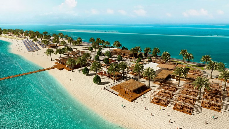 MSC plans to open Sir Bani Yas Island Beach Oasis in December.