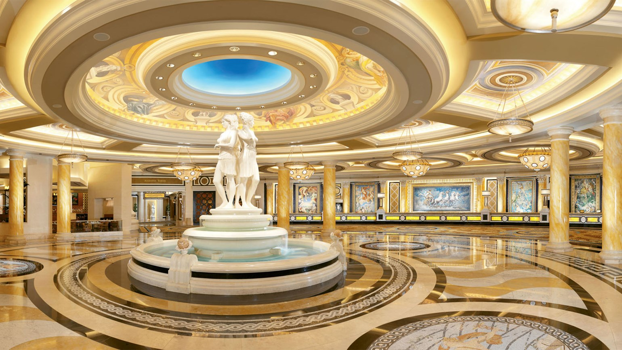 The Lobby At Caesars Palace Las Vegas