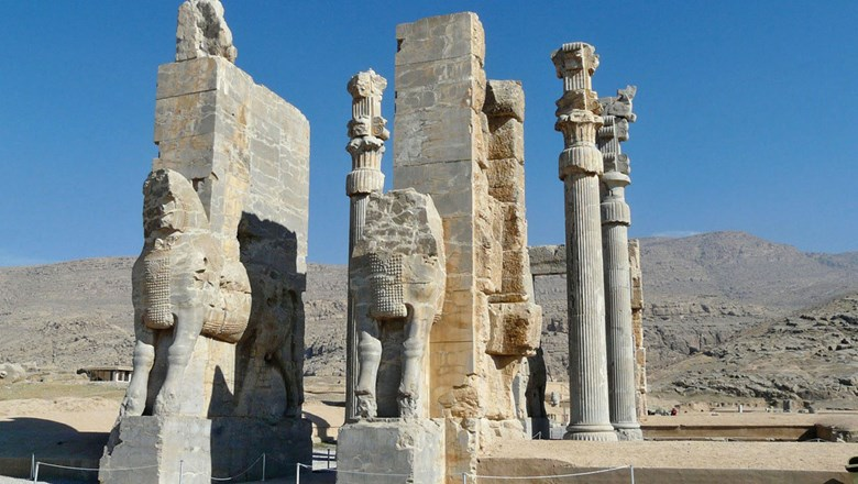 The Gates of All Nations in Persepolis, Iran.