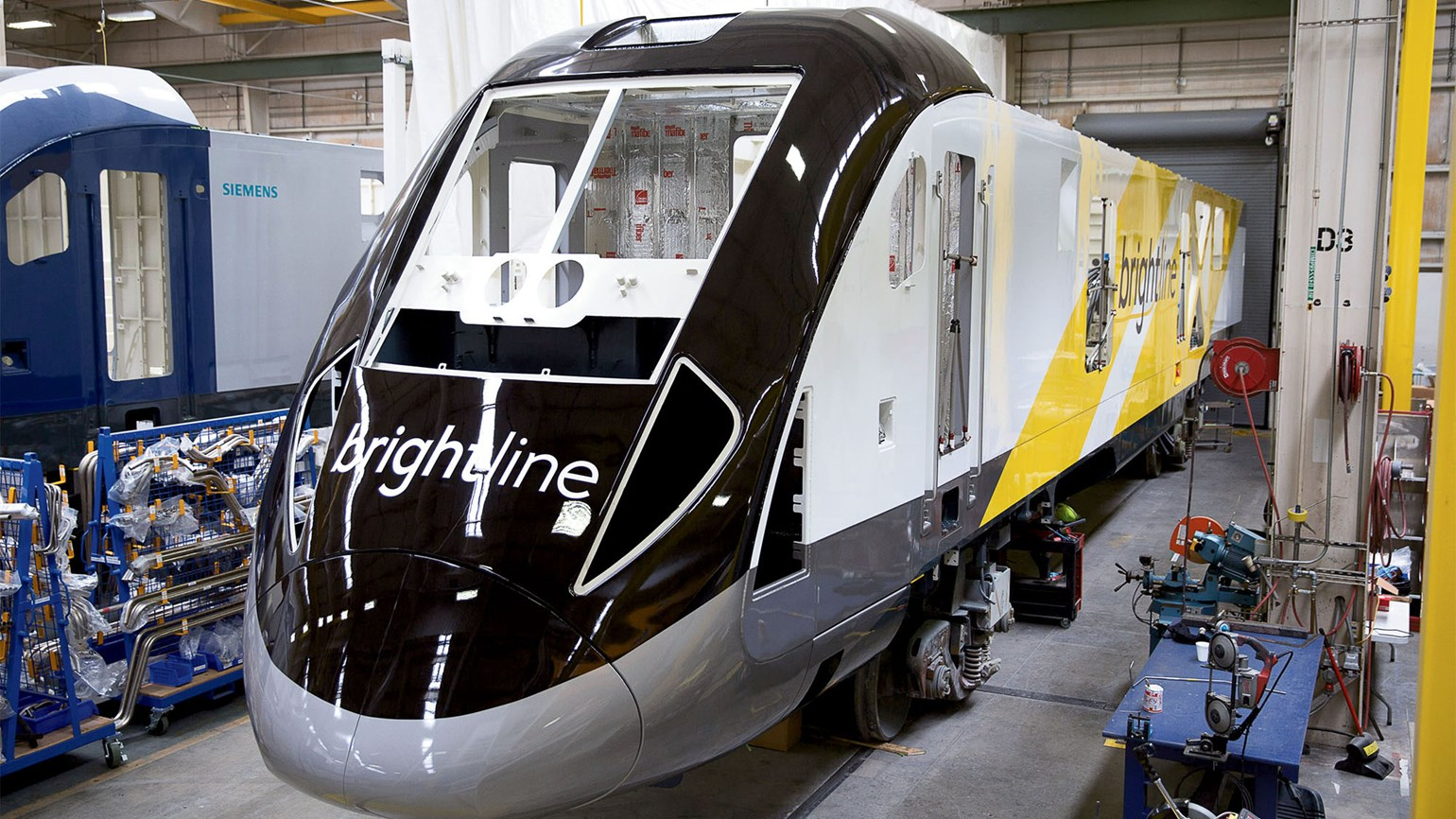 Brightline reveals features of its rail cars