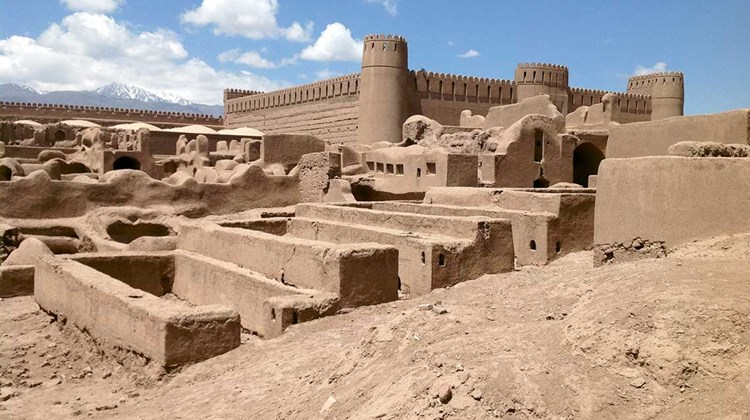 This Middle Eastern country, for decades demonized as dark and dangerous, has become today's surprising destination of choice for the adventurous and curious traveler. Pictured here, the remarkable mud-brick fortress of Arg-e Rayen, Iran.