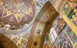 The Vank Cathedral in Esfahan's historical Armenian neighborhood, a testament to the city's multicultural roots.