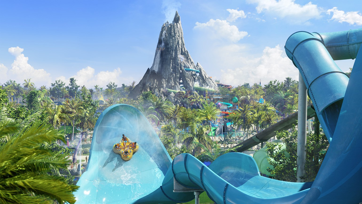 Universals Volcano Bay Inspired By Tales Of The South Pacific - Tales of the south pacific